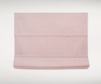 Blush Roman shades CUSTOM sizes pink rose linen window shade blinds custom