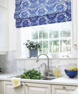 Roman shades CUSTOM sizes QUICK SHIP pick your fabric roman shades blue kitchen relaxed flat roman blinds window sheer linen shade blue