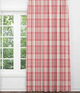 Farmhouse 24 or 52 Wide Custom Curtains,Pair Drapery Panels Country Cottage Blush Linen Curtains,Jaclyn Smith Solid Pink Farmhouse