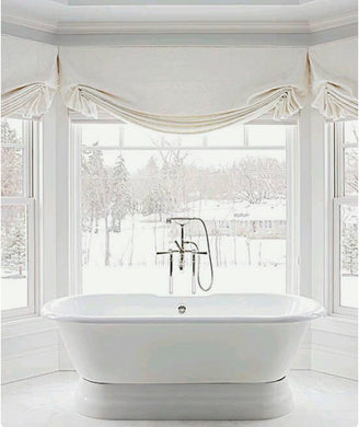 Roman Shades Linen White Pleated London Roman Shade Offwhite Ivory Linen  Roman Shade Bathroom White Linen