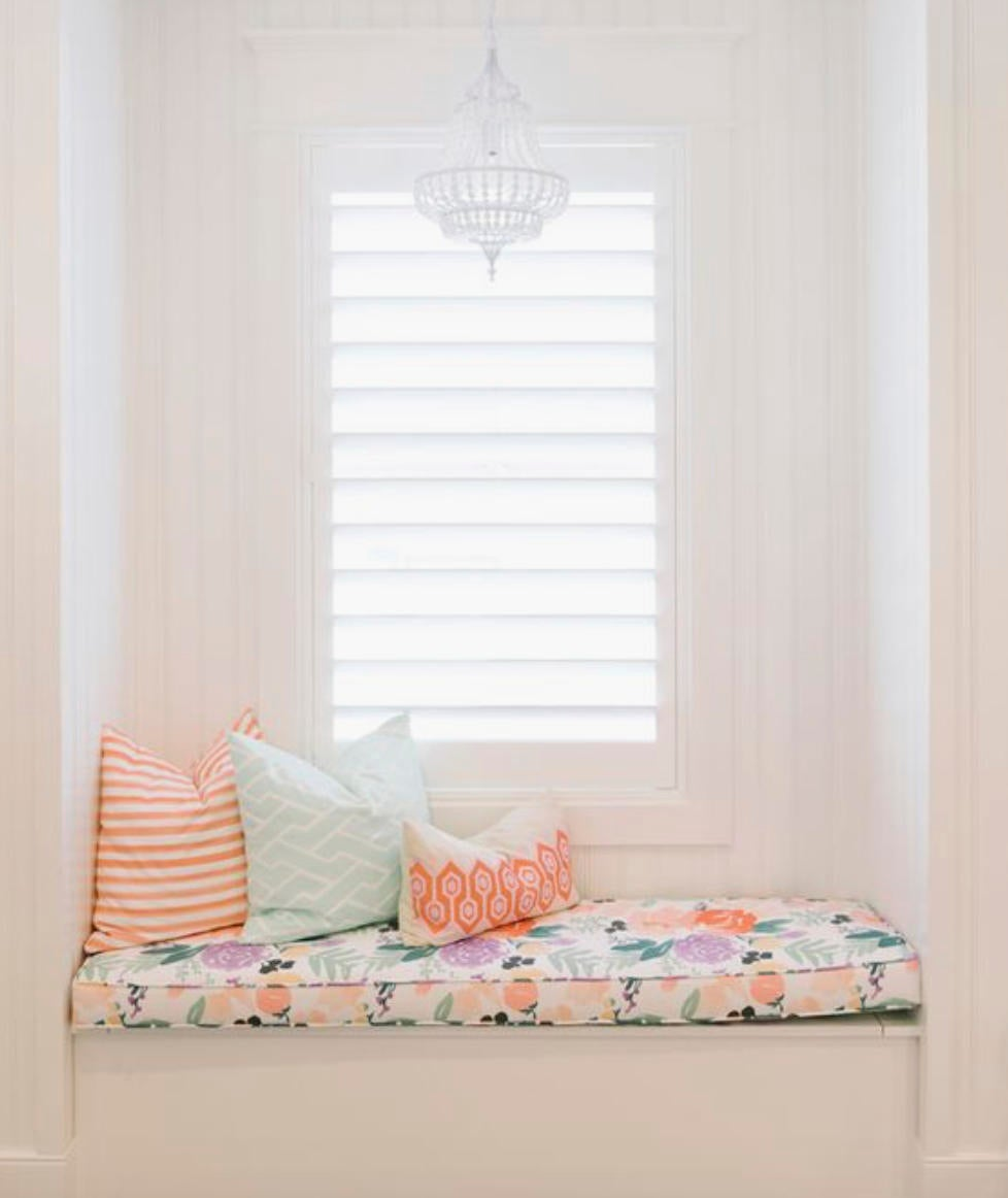 Window Seat Cushion Cover Window Bench Seat Cushion Cover Girls Room W Jll Home