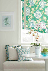 Curtain panels green chinoiserie lantern cherry blossom print green curtains green curtain panels modern chinoiserie curtains green drapes