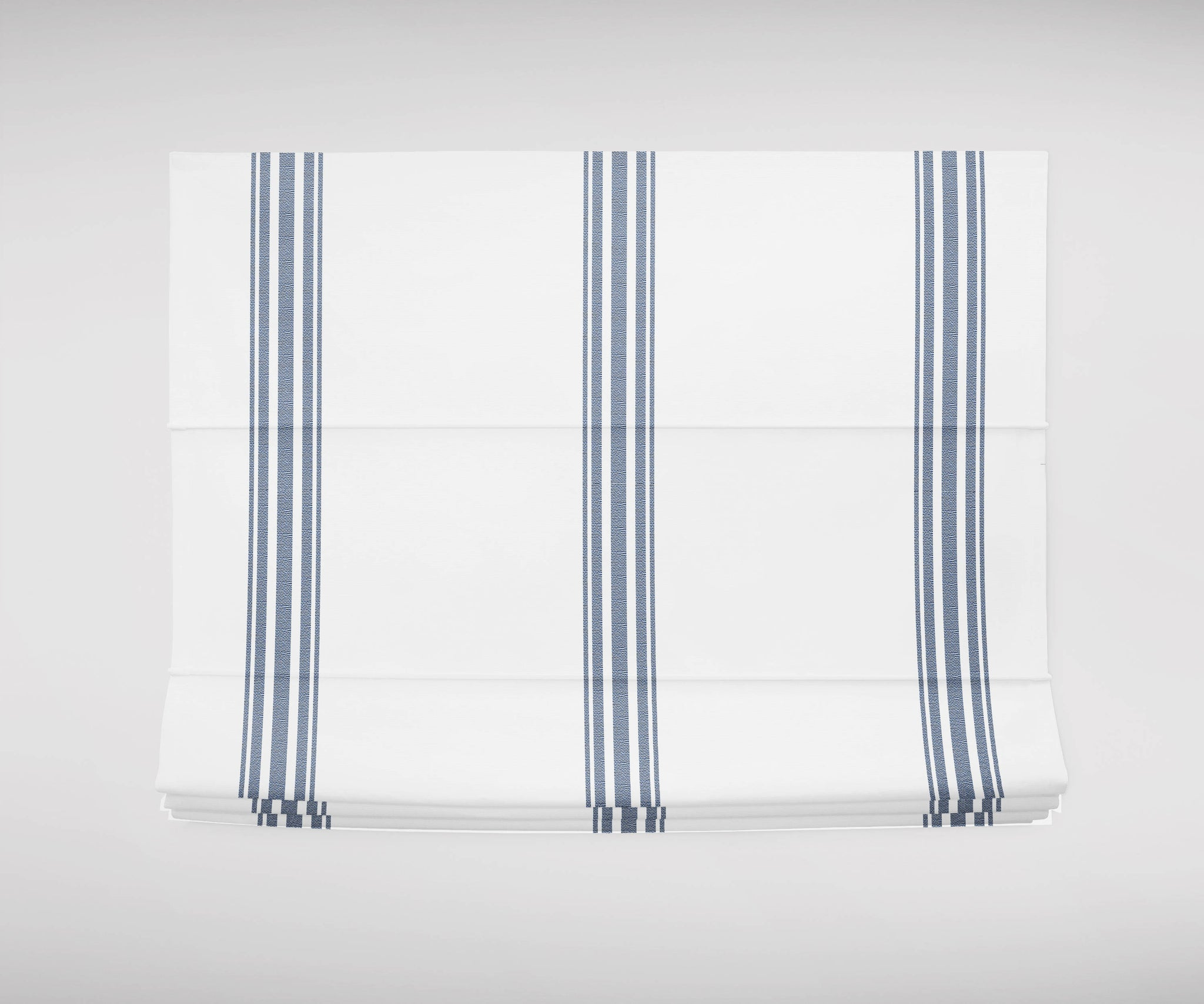 Blue French Ticking Roman Shades Blue And White Roman Shade Navy Blue Jll Home