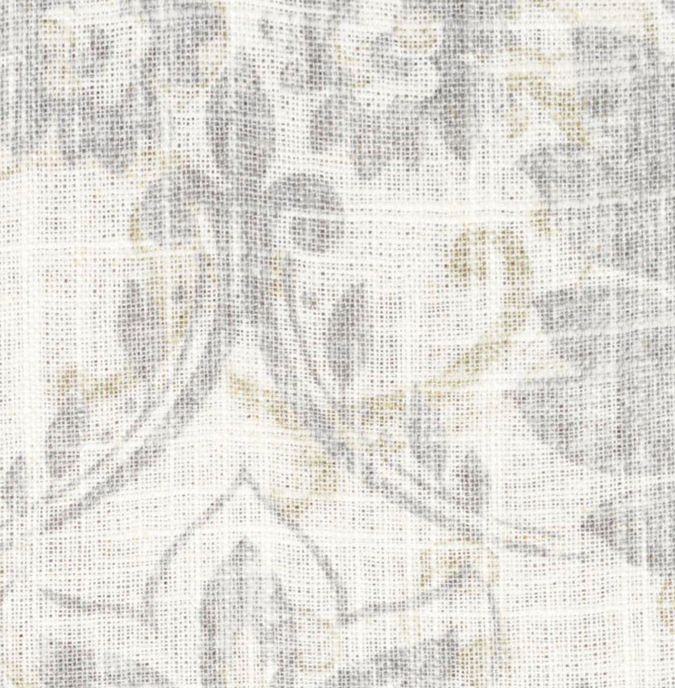 French Grey Curtains Linen Country Farmhouse Curtains