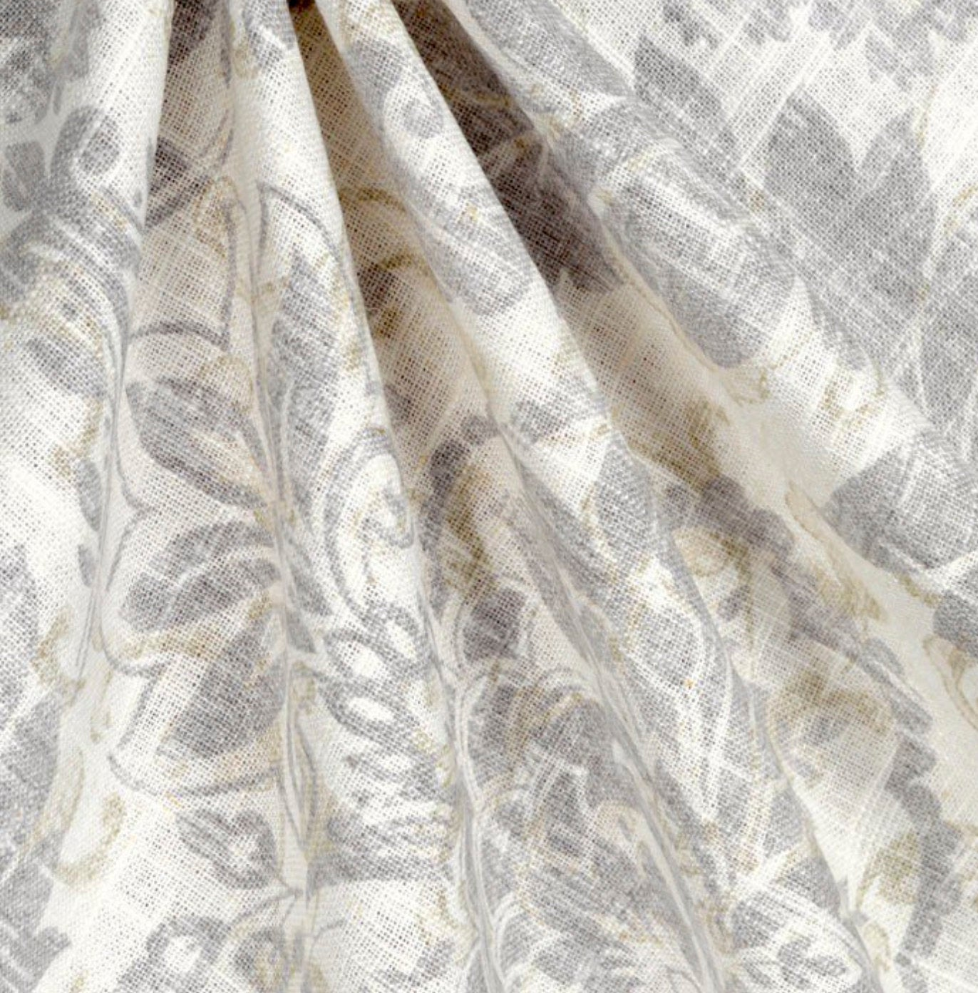 French Grey Curtains Linen Country Farmhouse Curtains Shabby Chic Curt Jll Home