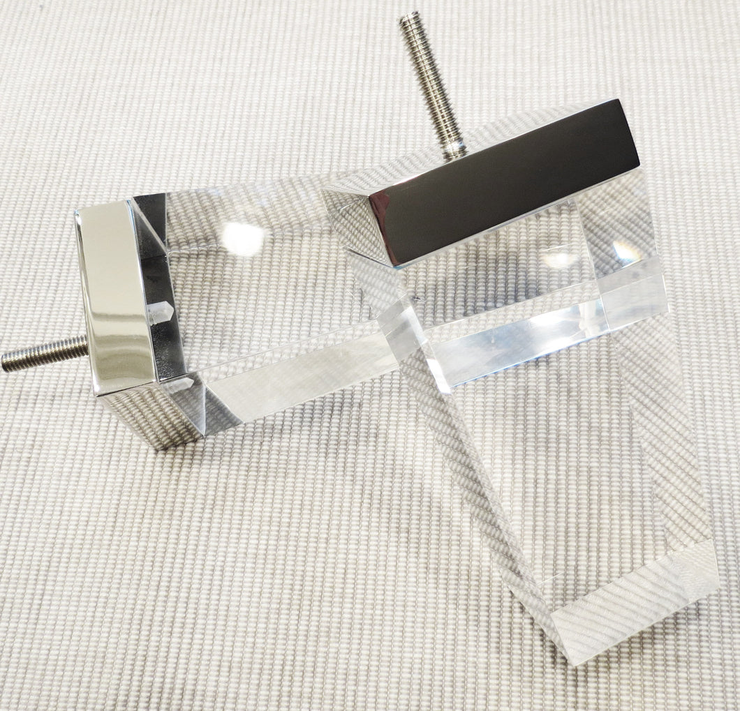 Lucite sofa legs Acrylic sofa legs clear couch legs lucite furniture legs lucite bench legs clear sofa leg furniture legs clear bottom large