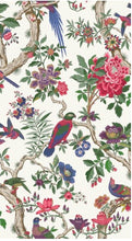 Cole and Sons wallpaper FONTAINEBLEAU wallpaper floral chinoiserie wallpaper birds