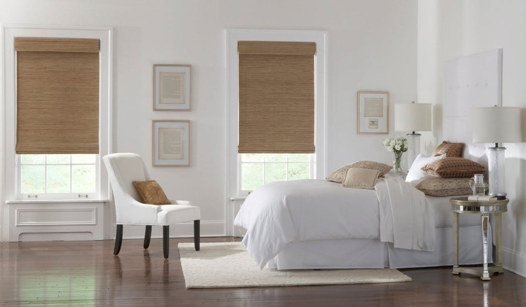 Woven wood shades bamboo window shades woven wood shades natural jute shades natural wood shades cordless roman shade tan beige grass