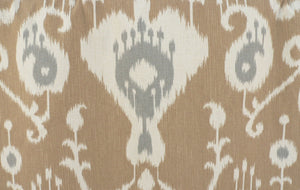 Grey Ikat curtains gray ikat curtain panels beige or gray custom curtains neutral curtains tan dark gray curtains dark grey curtains tall