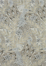 Dark Gray floral curtains THIBAUT curtains large floral curtain panels jacobean drapes oriental curtains floral floral curtains peacock