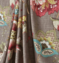 Curtain panels grey green pink red brown modern floral curtains taupe curtain modern floral drapes grey living room curtains gray curtain