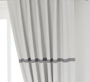 Modern farmhouse curtains grey stripe curtains farmhouse curtains new farmhouse curtains gray stripe curtains black gray stripe curtain long