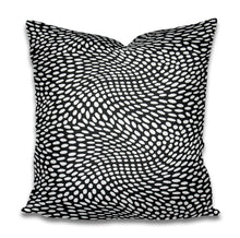 Beige and white pillow cover dots white tan pillow cover spots pillow swirl dash pillow dashes paint daubs neutral boho pillow dalmatian