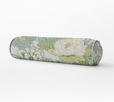Thibaut Honshu Pillow thibaut honshu blue green ivory bolster thibaut honshu robins egg long bed pillow bolster pillow thibaut lumbar pillow