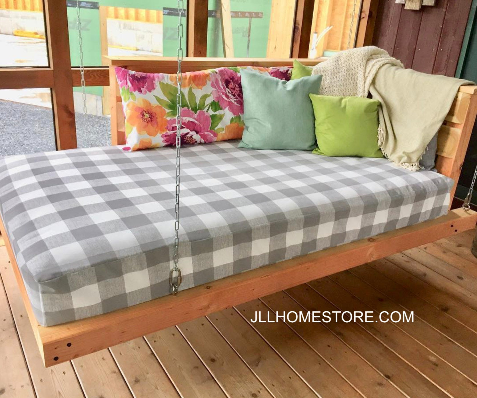 Buffalo Plaid Outdoor Daybed Cover Mattress Cover Buffalo Check Twin M Jll Home