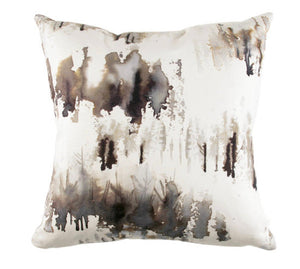 Grey watercolor pillow painterly pillow Romo pillow Norrland pillow norrland indigo norrland carbon grey painterly pillow gray watercolor