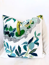 QUICK SHIP OUTDOOR Citrus Garden Pillow covers pool 16x16 indoor outdoor Schumacher pillow cover citrus garden pillows citrus garden pool