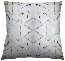 "Tribal Gray Grey Black and Ivory Pillow Cotton or Belgian Linen Throw Pillow ""Sabi"", Accent Pillow Long Lumbar Body Pillow"