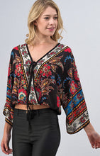 Multi Floral Blouse