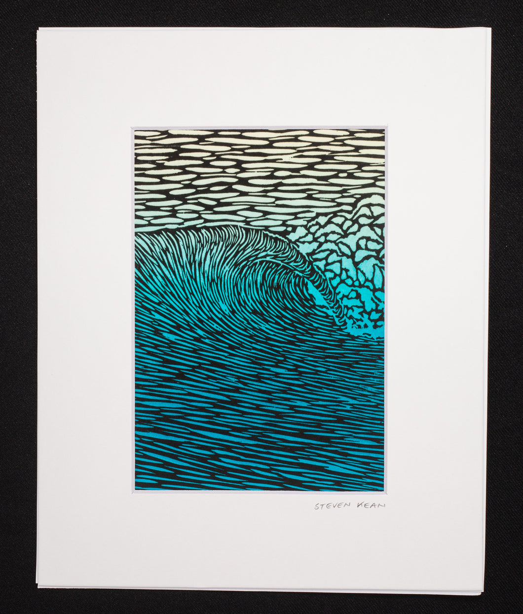 'Diamonds in the Sea' Giclee Art Print