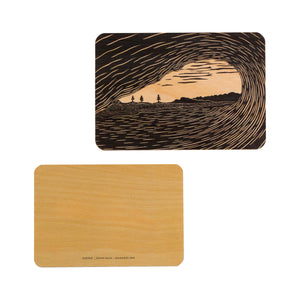 Kean Arts  Wooden Post Cards