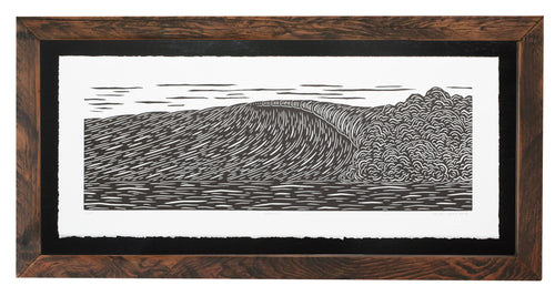 'Cadence' Original Woodcut Print (framed)