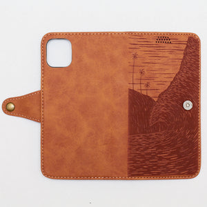 NEW!! 'Na Pali' vegan leather iPhone case (XR, 11, 11Pro)