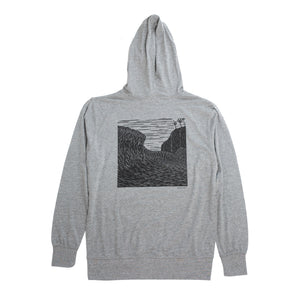 Kean Arts Light Weight Hoodie 'Over the Falls'