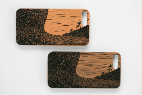 'Fluid Dynamics' iPhone case