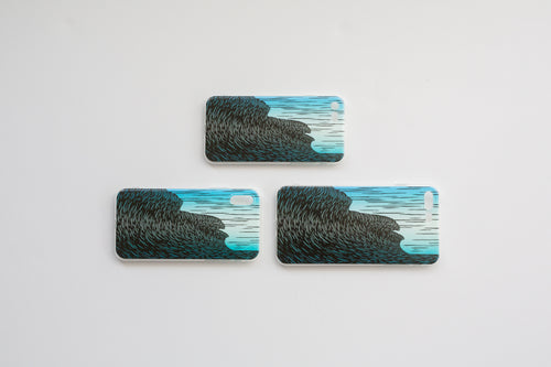 'Three Peaks' iPhone case (X, XS)