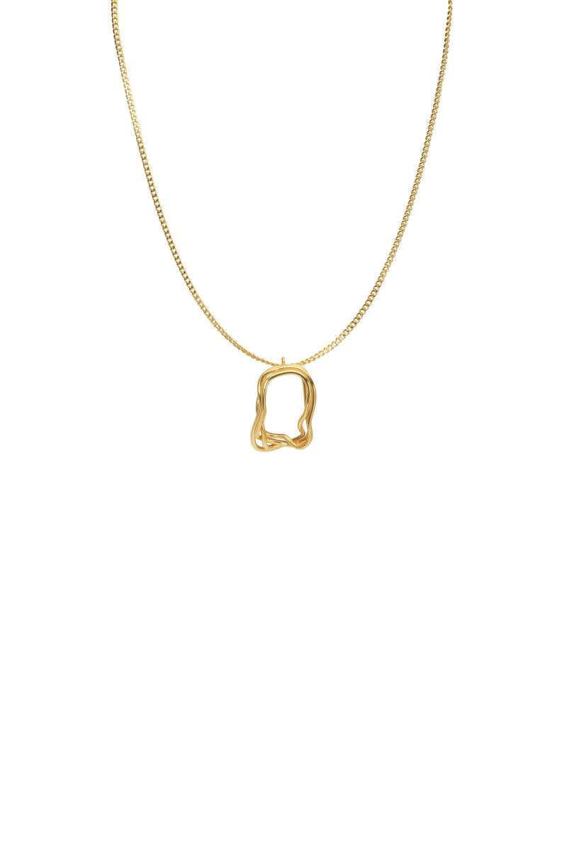 Fenomena Providencia Long Charm Necklace
