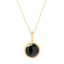 Dean Davidson Bamboo Gemstone Pendant Necklace