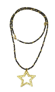 Gaby Ray Big Star Necklace
