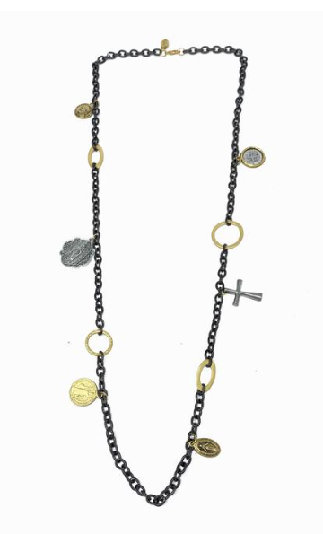 Gaby Ray Saints Necklace