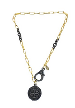 Gaby Ray Lila Coin Chain Necklace