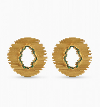 Fenomena Emerald Maxi Nova earrings