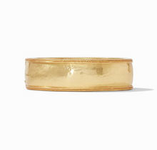 Julie Vos Cassis Statement Hinge Bangle Bracelet