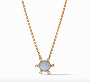 Julie Vos Cosmo Solitaire Necklace