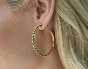 Julie Vos Soho Hoop Earrings