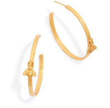 Julie Vos Bee Hoop Earrings