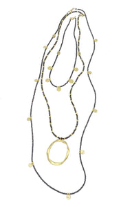 Gaby Ray Sia Coins Necklace