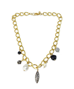 Gaby Ray Suri Chain Necklace