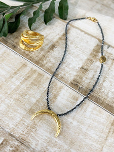 Gaby Ray Virginia Black Necklace