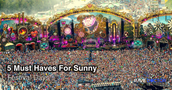 5 Must Haves For Sunny Festival Days