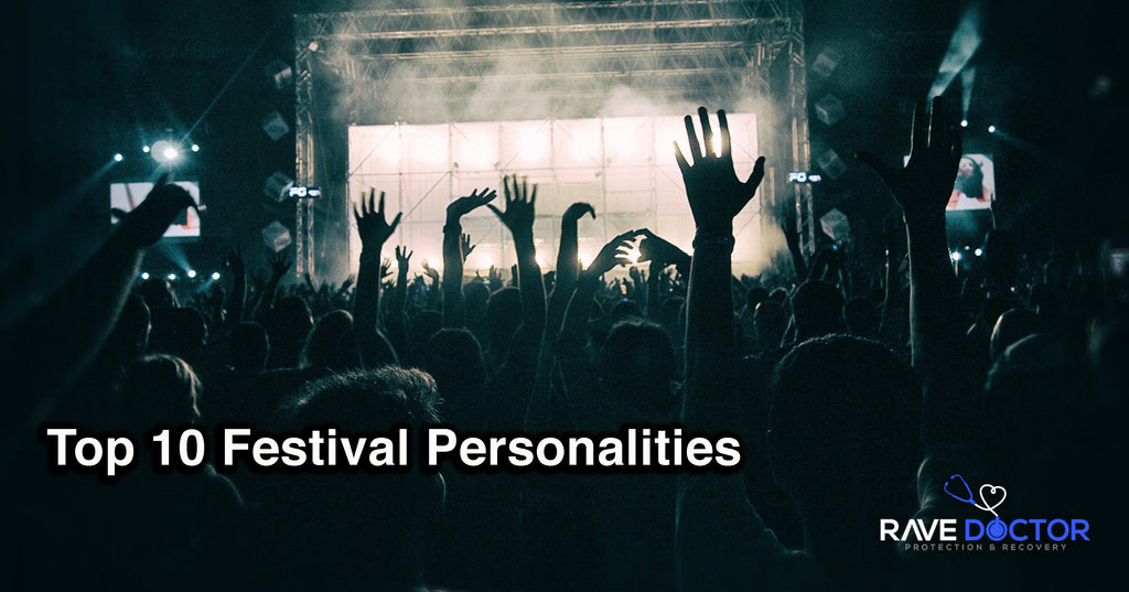 Top 10 Festival Personalities