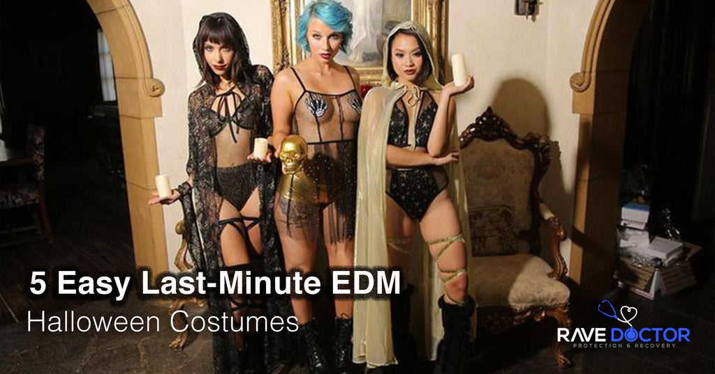 5 Easy Last-Minute EDM Halloween Costumes