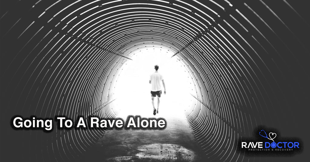 GOING TO A RAVE | MUSIC FESTIVAL ALONE