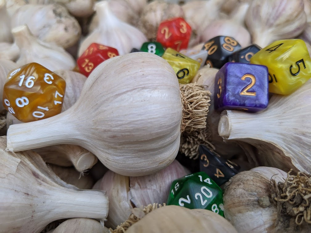 Random Magic D120 Garlic Variety Pack