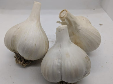 Serenity Valley garlic bulbs- a new garlic variety of true seed origin, from flowers and pollination