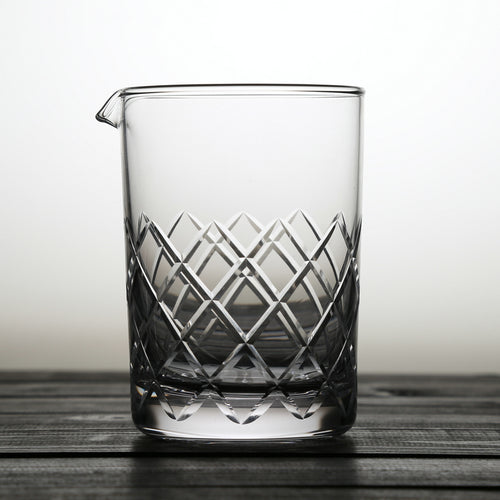 650ml Japanese Style Crystal Cocktail Mixing Glass